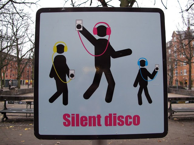 Silent disco zone