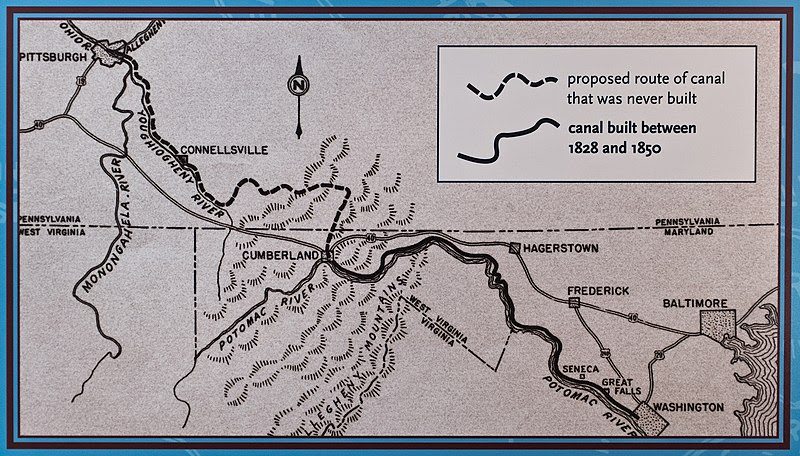 File:Proposed Map of C and O Canal.jpg