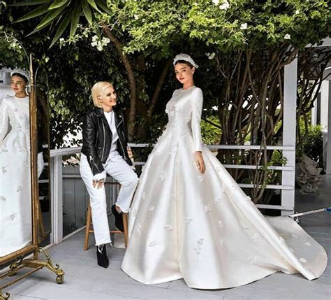 Wow! Miranda's wedding gown inspired by Princess Grace