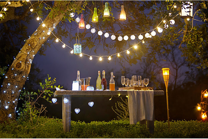 Turning inside out with outdoor lighting effects  Inspiration  DIY at BQ