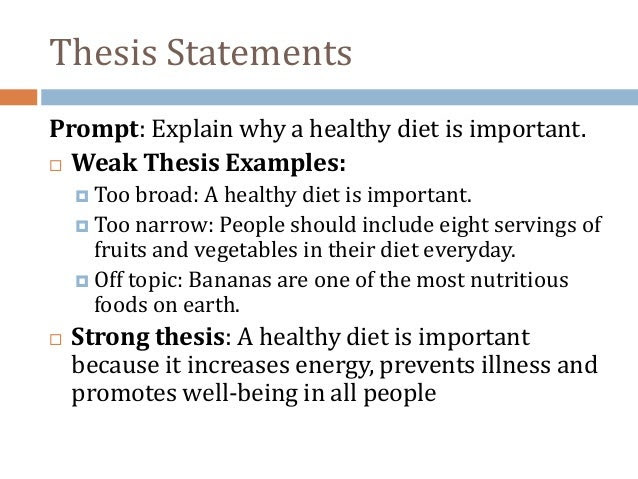 how to make a thesis statement in apa