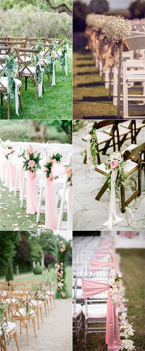 Outdoor Wedding Aisle Decoration Ideas to Love