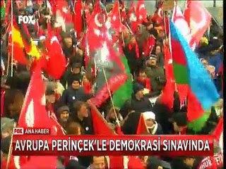İsviçre'nin temyize başvurmasıyla başlayan davaya Doğu Perinçek katıldı Türkler ve Ermeniler bayraklarıyla sokakta beklediler Ermeni tarafının avukatlığını ünlü aktör George Cloneey'in Lübnan asıllı eşi Amaal Cloneey yapıyor