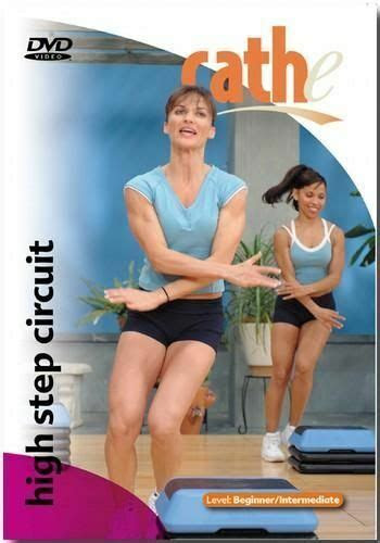 cathe friedrich high step circuit exercise dvd  sealed