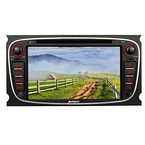 test pumpkin 7 zoll 2 din autoradio moniceiver android 5 1 f r ford mondeo s max focus galaxy. Black Bedroom Furniture Sets. Home Design Ideas