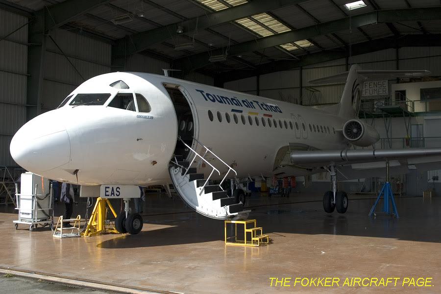 Toumai Air Tchad Fokker