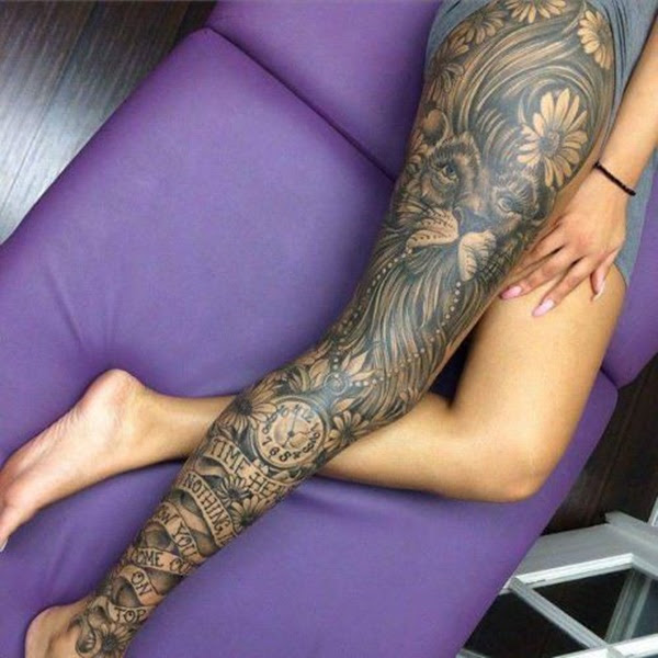 101 Thigh Tattoo Ideas And Designs For Women