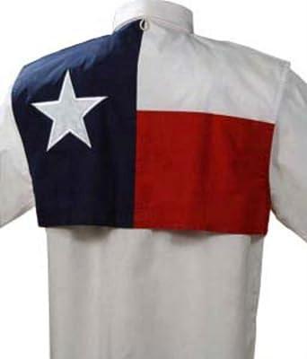 Download Amazon.com: Men's Texas Flag Fishing Shirt Short Sleeve ...