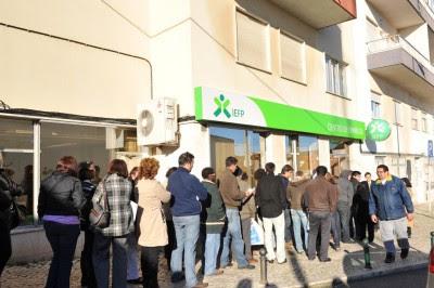 O desemprego real corresponde hoje à condição de 1 milhão e 300 mil pessoas. Foto de Paulete Matos.