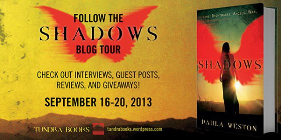 Shadows Blog Tour Banner