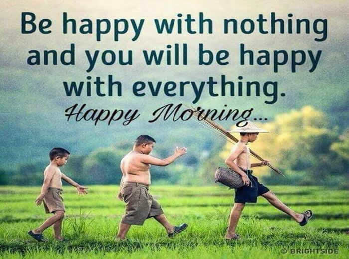 Good Morning Quotea Morning Is A Wonderful Blessing Inspirational