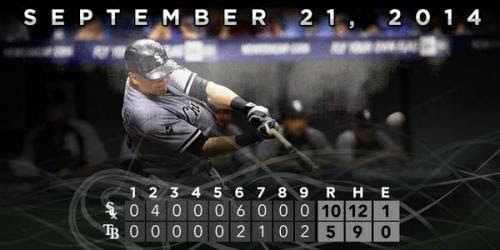 White Sox vs. Rays