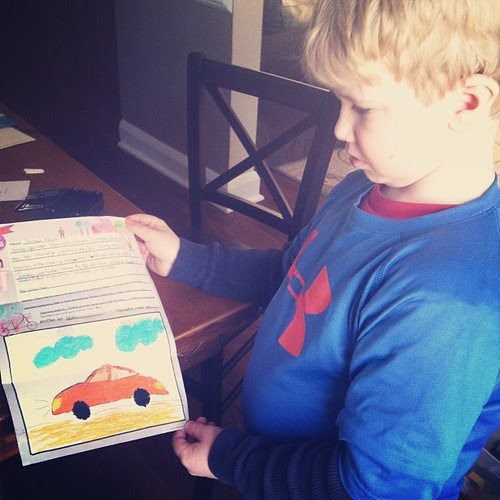 Joshua's letter from his friend Beni in Indonesia! #compassioninternational