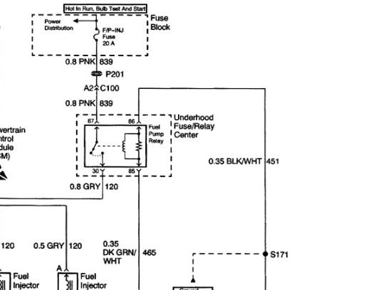2001 Chevy Silverado Fuel Line Diagram