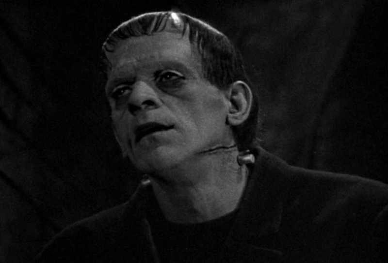Frankenstein Tide Boris Karloff