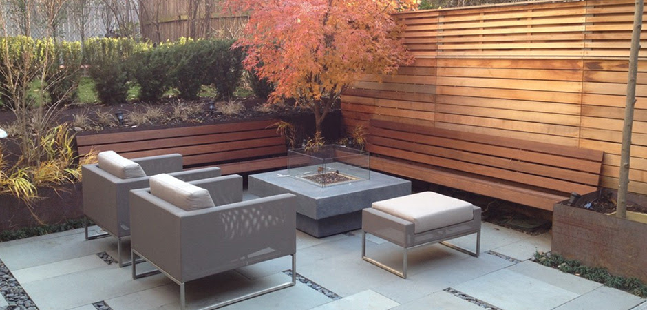 . Modern Backyard Design Ideas Montreal Outdoor Living   backyard