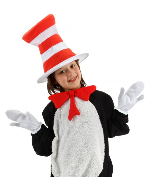 Seuss Kids Cat In The Hat Accessory Kit Halloween Costume Ideas 2018