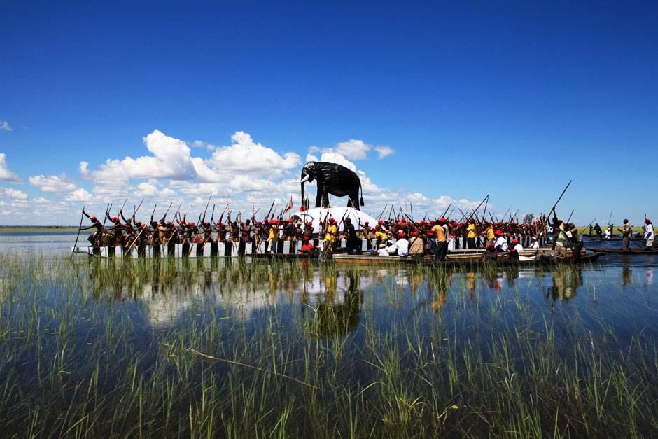 "This is the Kuomboka festival, the word itself in the Lozi language is said to mean ""to get out o... [Photo of the day - June 2012]"