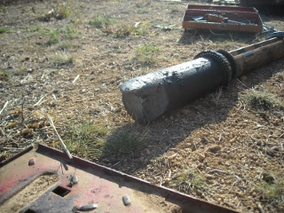 Farmall 806 Tractor Broken Axle