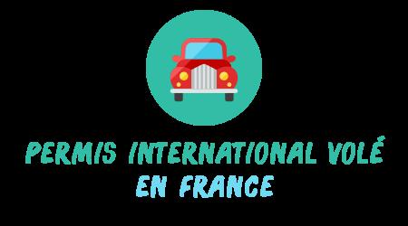 Permis De Conduire International Volé Les Démarches
