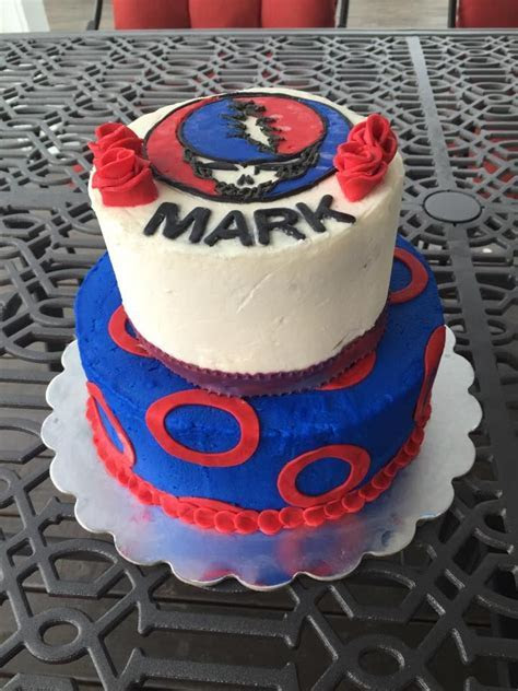Grateful Dead   Phish Birthday Cake! Steal Your Face