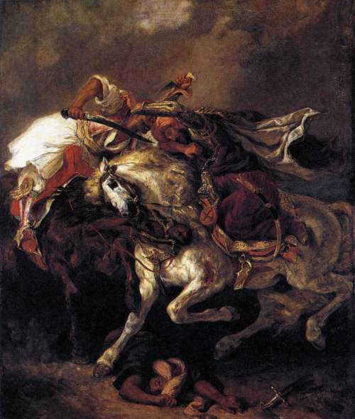 combat_of_the_giaour_and_the_pasha-large Musee du Louvre (Paris, France)
