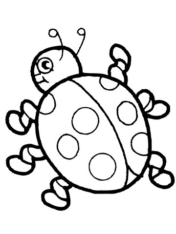 5200 Ladybug Coloring Pages Printable For Free