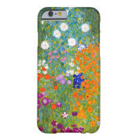 Flower Garden by Gustav Klimt Vintage Floral Barely There iPhone 6 Case
