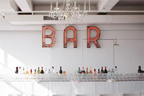 A Well Stocked Wedding Bar   The Utter Blog