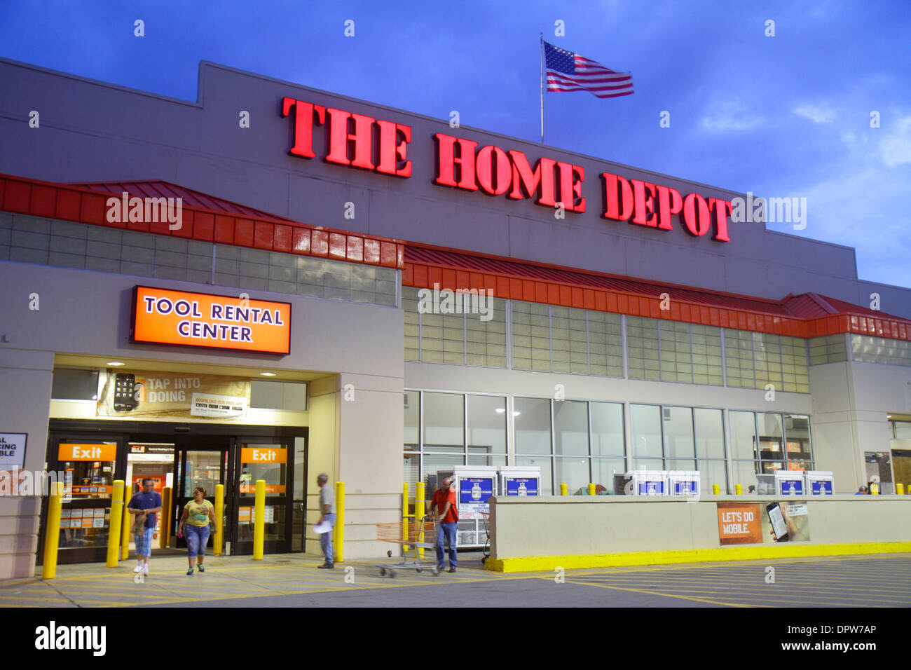 Miami Florida Little Havana Calle Ocho Home Depot hardware ...