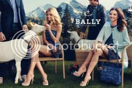 Miranda Kerr in Bally'New Ad