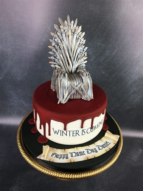 Game of thrones birthday cake   Mel's Amazing Cakes