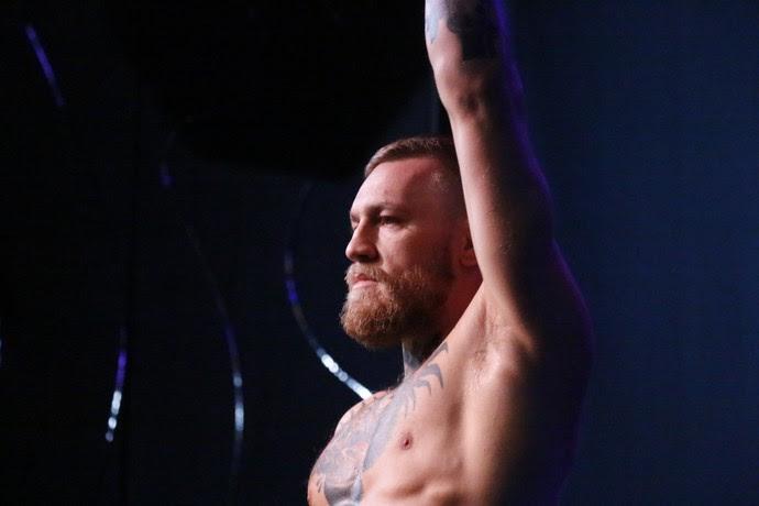 Conor McGregor; Treino aberto; UFC 202 (Foto: Evelyn Rodrigues)