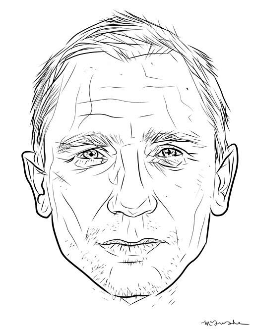 Daniel-Craig-James-Bond-by-Patrick-McQuade