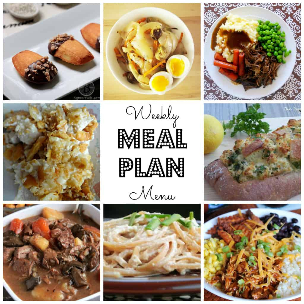 Weekly Meal Plan #41-square