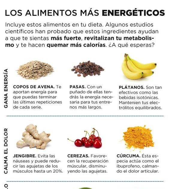Maratonianos los alimentos mas energ ticos - Alimentos que suben la tension ...