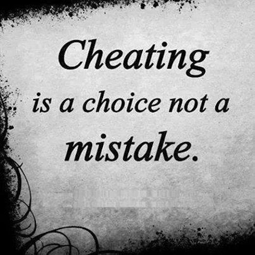 Cheating Is A Choice Not A Mistake Pictures Photos And Images For