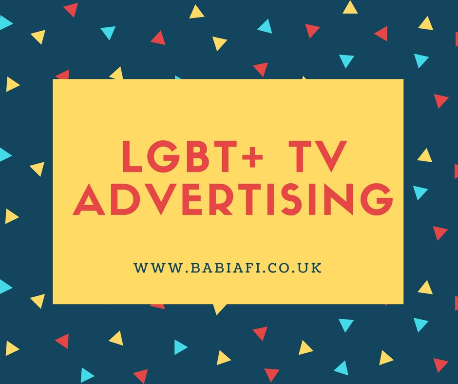 LGBT+ TV Adverts