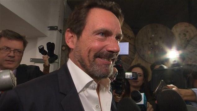 L'ex-chef du Parti québécois, Pierre Karl Péladeau