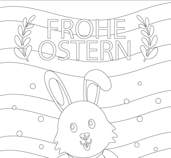 Ausmalbilder Info Ostern