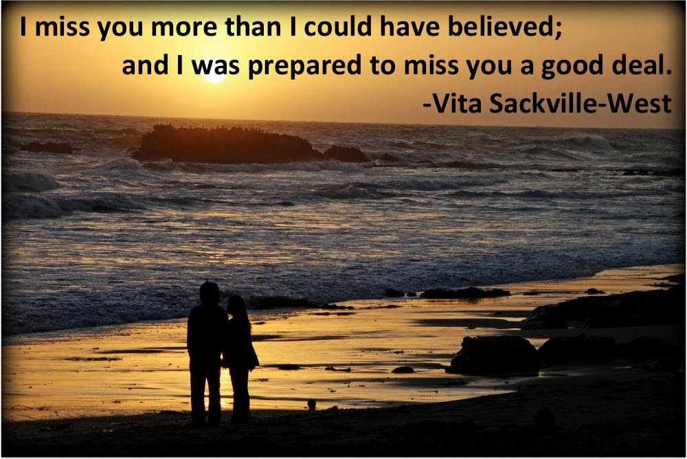 I Miss You More Than I Could Have Believed Vita Sackville West
