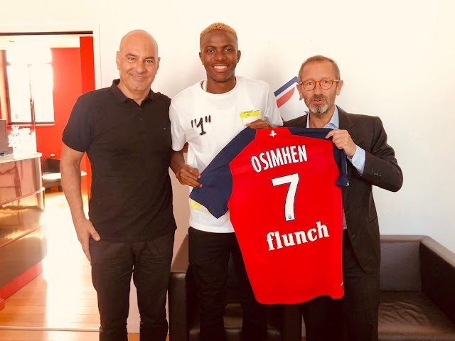 Victor Osimhen Join Lille