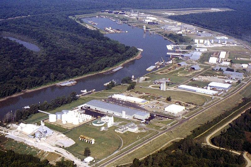 File:Vicksburg harbor aerial view.jpg