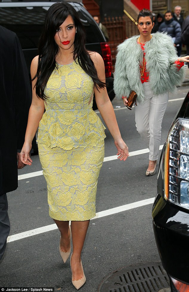Welcome To Simply Cheska's Blog...: Kim Kardashian reveals ...