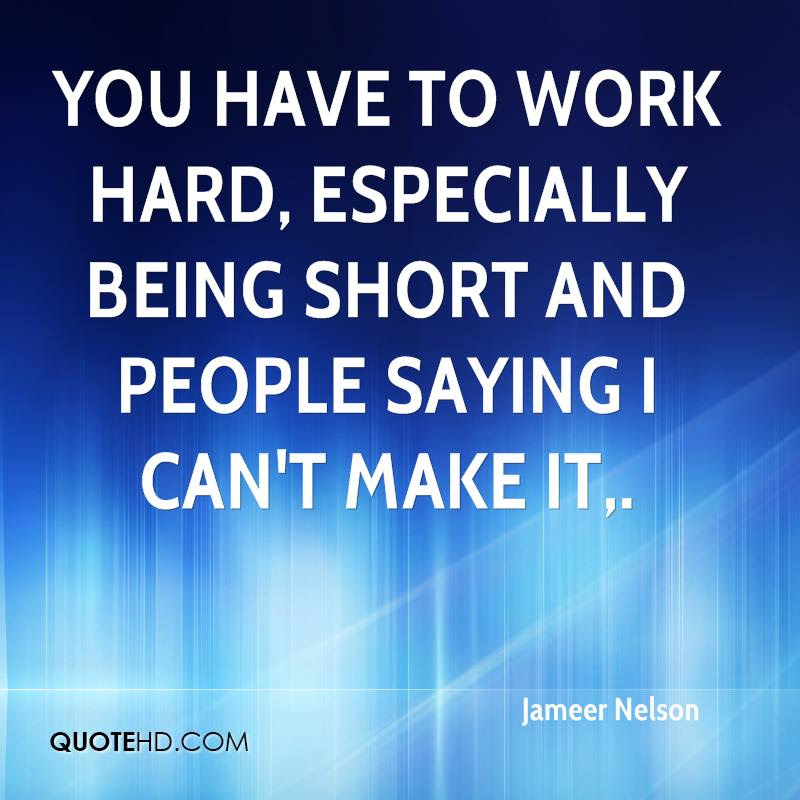 Jameer Nelson Quotes Quotehd