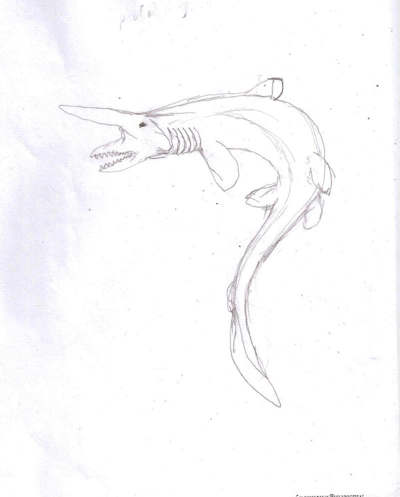Goblin Shark Coloring Pages