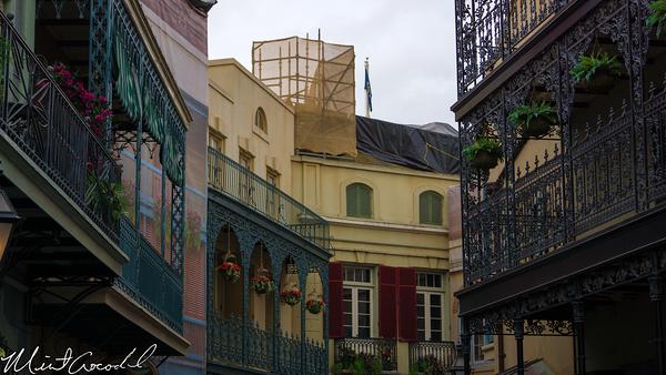 Disneyland Resort, Disneyland, New Orleans Square, Roof, Club 33, Refurbishment, Refurb