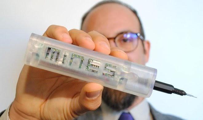 Смарт-ручка впервые позволит врачам точно контролировать уровень анестетика