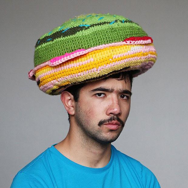 หมวกโครเชต์ Burger