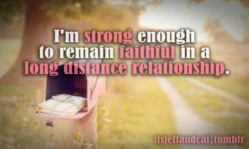 Long Distance Relationship Will Work Work If 2 People Inlove Are